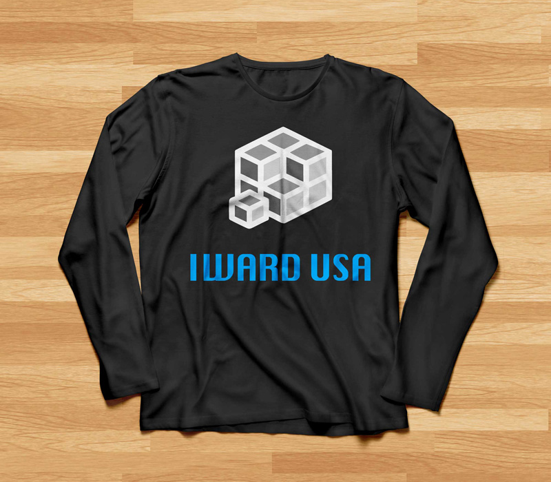 I-Ward Long Sleeve Shirt Branding